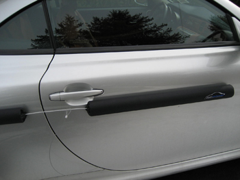 Door Defender the car door protector set up Instructions for using on your vehicle. & Door Guard Installation - Door Defender